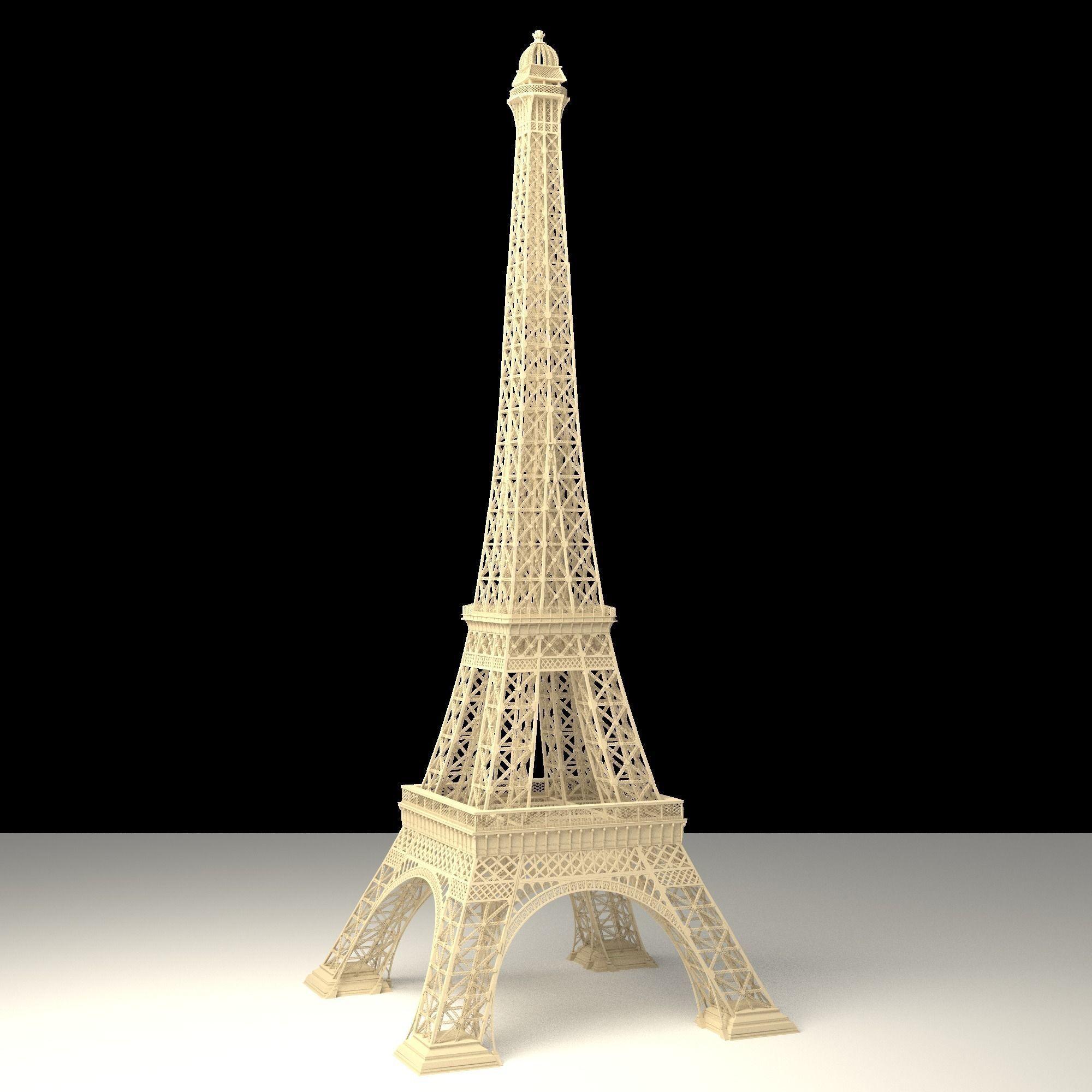eiffel-tower-3d-model-obj-blend